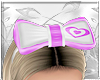 Kids Purple Heart Bow