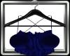 Blue Silk Summer Top