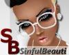 [SB] Nerd Glasses White