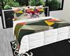 :3 Modern Blk Silver Bed