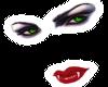 Vamp Face sticker