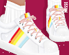 n| Rainbow Pink Shoes