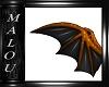 Halloween Wings Orange