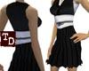 Samurai Sleevless dress