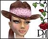 [PBM] Auburn Suede Hat