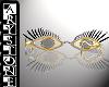 $.Glasses lashes