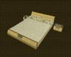 ~Lu Cream Floral Bed