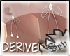 *S Derive Bow Earrings