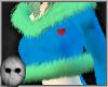 G! B/G Fur Top