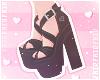 F. Lovely Heels Black