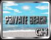 [CH]Private beach