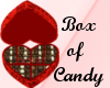 Heartbox of candy