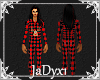 Xmas Plaid Onesie - Red