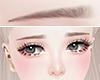 Eyebrow|brown