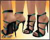 D- Liz Teal Sandals