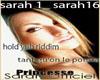 sarah tant qu'on le pour