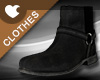 Boots-Black Velure