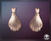 [T69Q] Ariel Shell Earr.