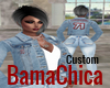 BamaChica71 Denim Jacket