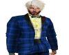 Classic Blue Plaid Tux