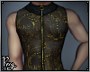 Sheer Filigree Vest