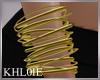 K gold bangles