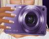 Purple Digital Camera