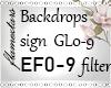 Custom  Sign GL and EF