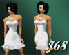 J68 Jillian Dress White