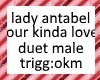 lady ant okl duet male