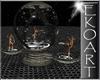 [E] Rotating Dance Globe
