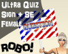 R! Ultra Quiz Sign+SE F