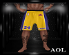 Laker Shorts + Tattoos