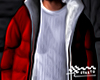 Red Puff Hoodie