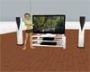 Black/White animated TV