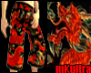 Fire Dragon Shorts