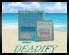 Blue Beach Pic Deco