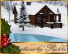 I~Winter Log Cabin*M