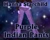 Purple Indian Pants