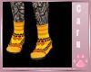 *C* Candy Corn Shoes
