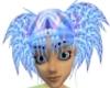 Blue Water Hair
