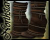 ~NS~ Leather strap boots