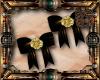 Steampunk Bow Earrings