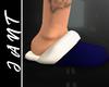 [J] Blue slippers