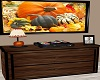 Fall Dresser With TV