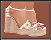 Daisy Wedge Heels