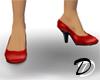 Economy High Heels (red)