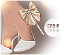 Shimmery Heels White 2