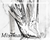 -Mm- Silver Boots