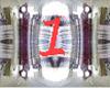 Ama}Dance ring V1 SILV